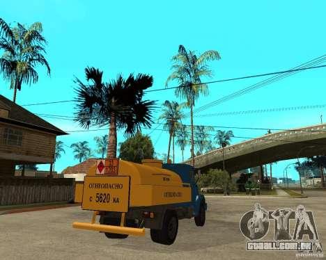 ZIL-433362 Extra Pack 2 para GTA San Andreas vista interior