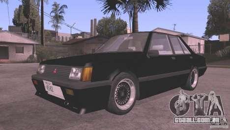 Mitsubishi Lancer EX Turbo 1983 para GTA San Andreas