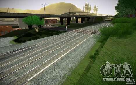 Faixas de HD para GTA San Andreas quinto tela