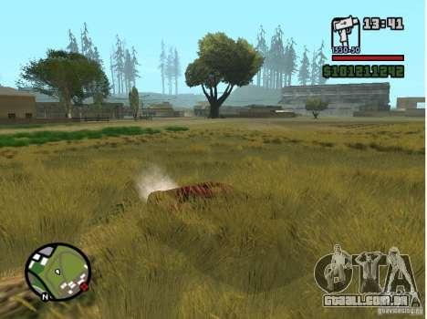Real Grass v1.0 para GTA San Andreas terceira tela