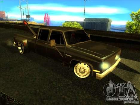 Chevrolet Silverado Towtruck para GTA San Andreas