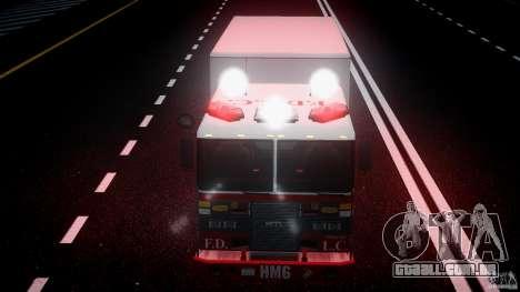 LCFD Hazmat Truck v1.3 para GTA 4 vista inferior