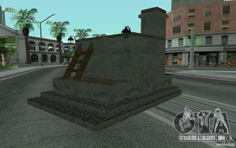 Fogão para GTA San Andreas esquerda vista