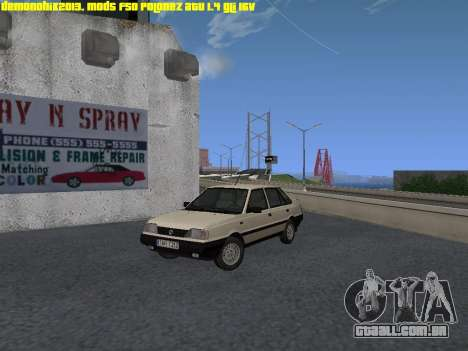 FSO Polonez Atu 1.4 GLI 16v para GTA San Andreas
