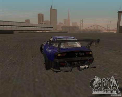 Mazda RX-7 FD3S special type para GTA San Andreas traseira esquerda vista