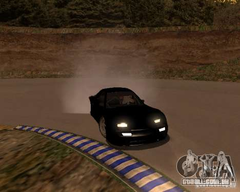 Mazda RX-7 FC - MadMike: Version.2 para GTA San Andreas vista traseira
