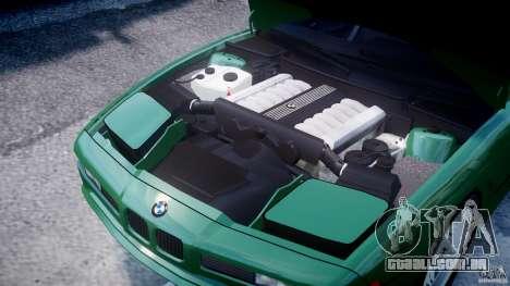 BMW 850i E31 1989-1994 para GTA 4 vista interior