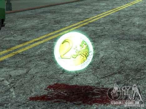 Moedas de euro para GTA San Andreas