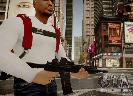 O HK416 (automático) para GTA 4 segundo screenshot