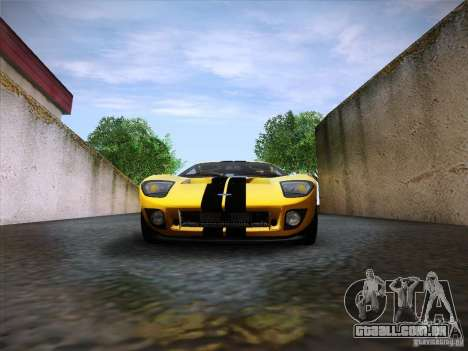 Ford GT para GTA San Andreas vista interior