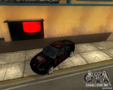 Vauxhall Monaro para GTA San Andreas vista traseira