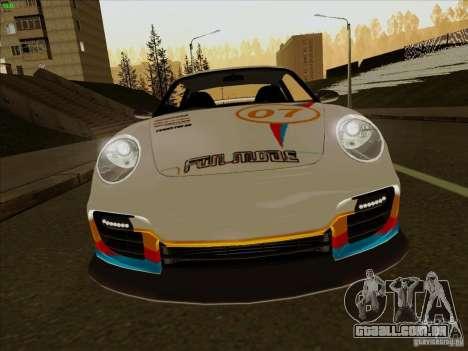 Porsche 997 GT2 Fullmode para GTA San Andreas vista interior