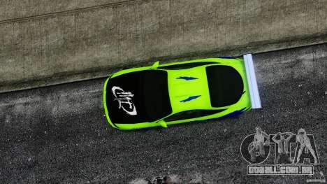 Mitsubishi Eclipse GSX FnF para GTA 4 vista direita