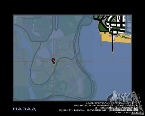 Casa caçador v 1.0 para GTA San Andreas sétima tela