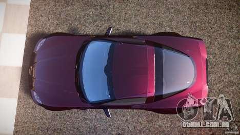 Chevrolet Corvette C6 Z06 para GTA 4 vista direita