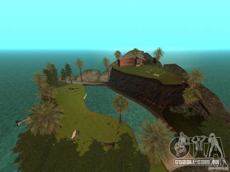 Kapu Pohaku Island v1.2 para GTA San Andreas