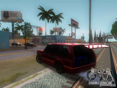 New Huntley para GTA San Andreas vista direita