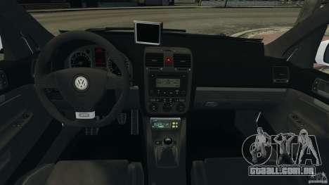 Volkswagen Golf 5 GTI South African Police [ELS] para GTA 4 vista direita