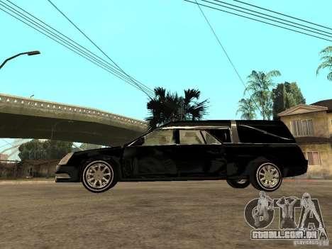 Cadillac DTS 2008 para GTA San Andreas esquerda vista