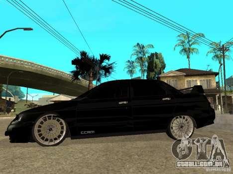 Ajuste de Penza VAZ 2110 para GTA San Andreas esquerda vista