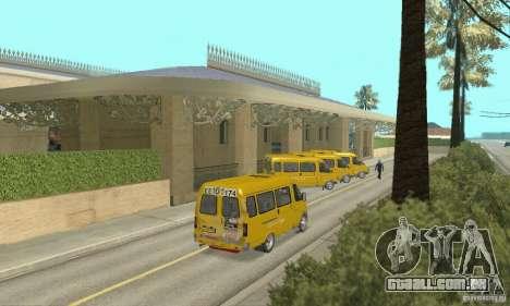 Gaz 2705 Minibus para GTA San Andreas esquerda vista