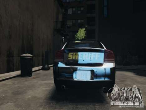 Dodge Charger Slicktop 2010 para GTA 4 vista direita