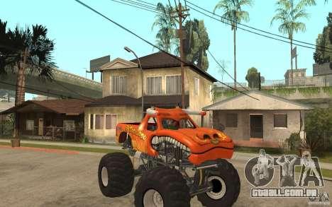 El Toro Loco para GTA San Andreas vista traseira