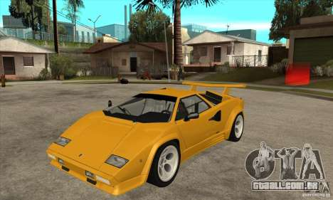 Lamborghini Countach para GTA San Andreas