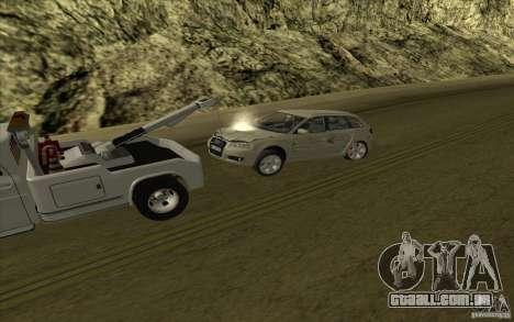 Chevrolet guincho para vista lateral GTA San Andreas
