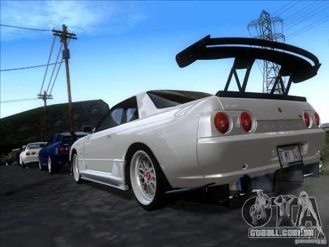 Nissan Skyline GT-R R32 1993 Tunable para GTA San Andreas esquerda vista