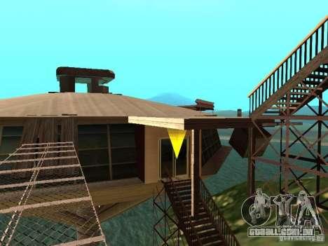 (Ilha Mounth na água) para GTA San Andreas segunda tela