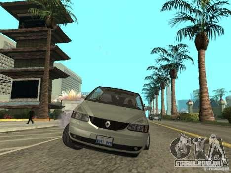Renault Avantime para GTA San Andreas vista direita