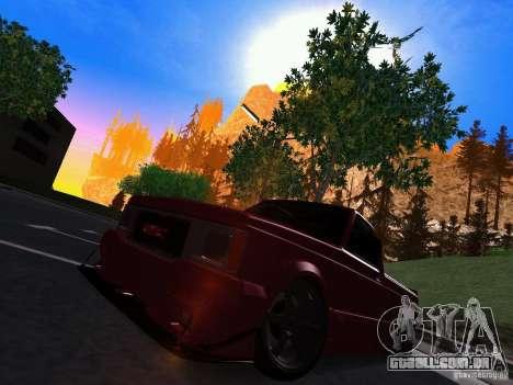 GMC Syclone Drift para GTA San Andreas esquerda vista