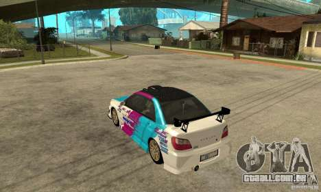 Subaru Impreza 2002 Tunable - Stock para GTA San Andreas interior