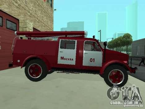 GAZ 51 20 ADC para GTA San Andreas traseira esquerda vista