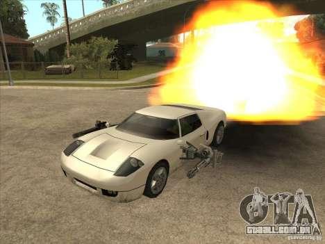 O script CLEO: Super carro para GTA San Andreas terceira tela