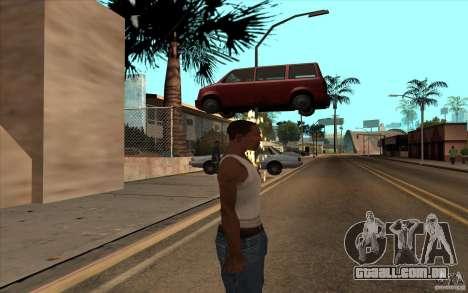 Desenho para GTA San Andreas quinto tela