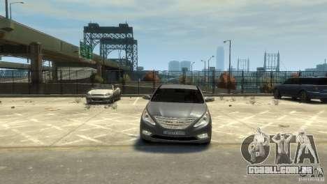 Hyundai Sonata para GTA 4 vista de volta