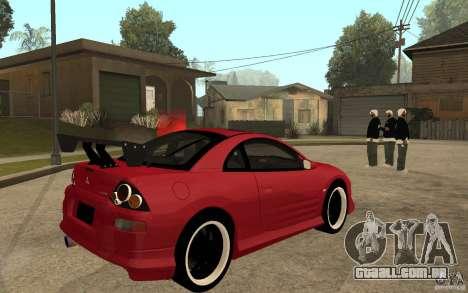 Mitsubishi Eclipse 2003 V1.0 para GTA San Andreas vista direita