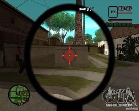 Sinos e assobios para armas para GTA San Andreas sexta tela