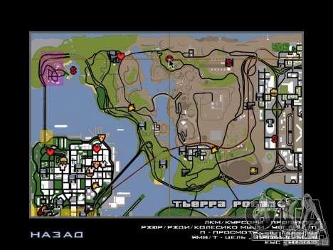 Casa de campo para GTA San Andreas por diante tela