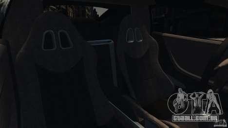 Ascari KZ1 v1.0 para GTA 4 vista interior