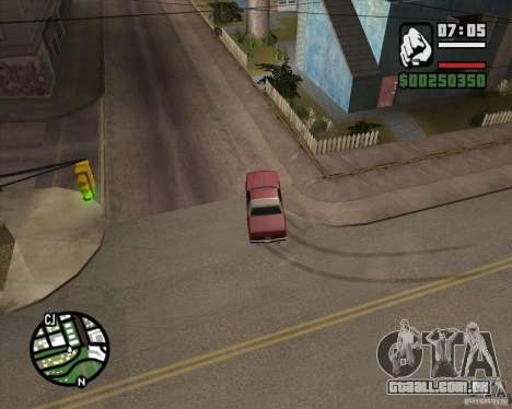 Câmera como em GTA Chinatown Wars para GTA San Andreas oitavo tela
