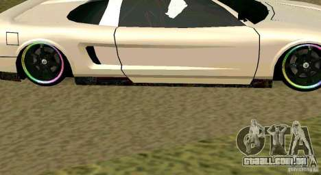 New Infernus para GTA San Andreas vista direita