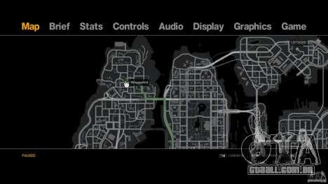 Pizza Hut para GTA 4 por diante tela