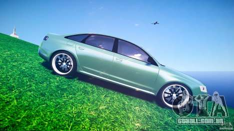 Audi RS6 2009 para GTA 4 vista superior