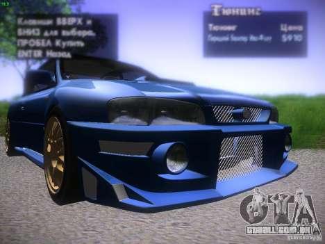 Subaru Impreza 22b Tunable para GTA San Andreas
