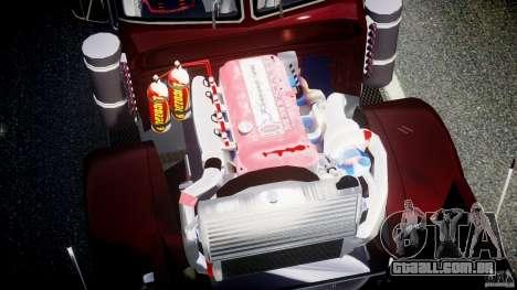 Peterbilt Sport Truck Custom para GTA 4 vista superior