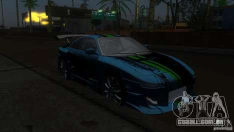 Toyota MR2 Drift para GTA San Andreas vista traseira