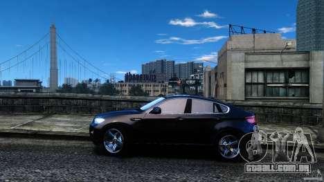 BMW X6 2013 para GTA 4 esquerda vista